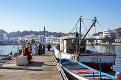Muttrah Fish docks - Muscat, Oman stock photos