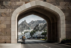 Muscat, Oman. Muscat,Oman. February 2012 - Landscape from Muscat, Oman Royalty Free Stock Photography