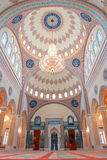 Muscat, Oman - Interior of Taymoor Mosque royalty free stock photo