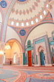 Muscat, Oman - Interior of Taymoor Mosque Stock Image