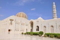 Muscat, Oman - mosquée grande de Qaboos de sultan Image stock