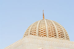 Muscat, Oman - Sultan Qaboos Grand Mosque - Dome royalty free stock image