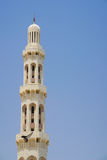 Muscat, Oman - Sultan Qaboos Grand Mosque Minaret Royalty Free Stock Photography