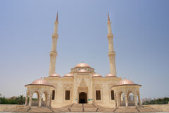 Muscat, Oman - Sultan Taymoor Mosque Royalty Free Stock Photo