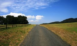 Musch Meadows Road Stock Photography