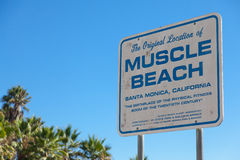 Muscle Beach Royalty Free Stock Photo