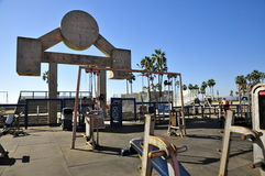 Muscle Beach Royalty Free Stock Image