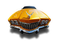 Muscle car. Clipping Path on Vehicle Royalty Free Stock Photo