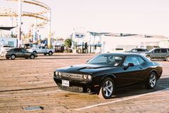 Muscle car  Stock Images