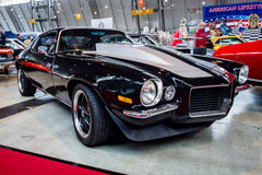Muscle car Chevrolet Camaro RS, 1970. STUTTGART, GERMANY - MARCH 03, 2017: Muscle car Chevrolet Camaro RS, 1970. Europe`s greatest classic car exhibition `RETRO Stock Photography