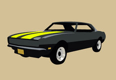 Muscle car Royalty Free Stock Photo