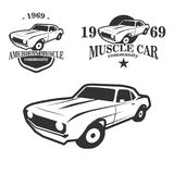 Muscle Car Community Logo Stock Images
