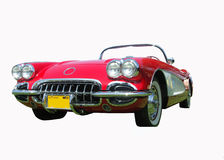 Muscle car, corvette royalty free stock photo