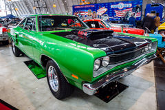 Muscle car Dodge Super Bee 440 Six Pack, 1969. Royalty Free Stock Image