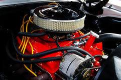 Muscle car engine Royalty Free Stock Photography