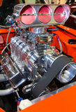 Muscle Car Engine Royalty Free Stock Image