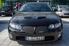 Muscle car Pontiac GTO Fourth generation, 2006. Royalty Free Stock Images