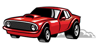 Muscle car Royalty Free Stock Photos