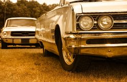 Muscle cars Royalty Free Stock Photo