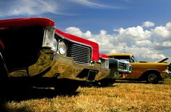 Muscle Cars Royalty Free Stock Photos