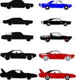 Muscle Cars Royalty Free Stock Photography
