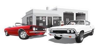 Muscle Cars Stock Photos