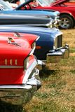 Muscle Cars In A Row Royalty Free Stock Photos