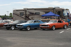 Muscle cars Stock Image