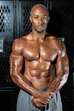 Muscle Fitness Athlete Stock Image