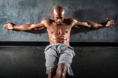 Muscle Fitness Physique Stock Image
