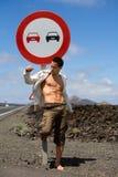 Muscle l'uomo Fotografia Stock