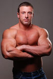 Muscle male model Royalty Free Stock Images
