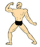 Muscle man Royalty Free Stock Photography