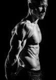 Muscle mass Royalty Free Stock Photos