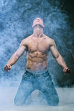 Muscle sexy young cute man Stock Photo