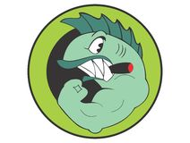 Muscle Shark Royalty Free Stock Images