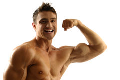 Muscleman Royalty Free Stock Photo