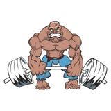 Muscleman stock image