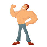 Muscleman Royalty Free Stock Image