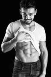 muscles abdominaux Images libres de droits