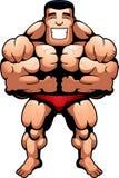 Muscles de Bodybuilder Photographie stock libre de droits