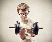 Muscles de chéri photos stock