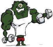 Muscoli del mostro. Immagine Stock