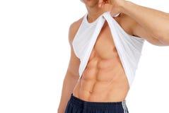 Muscoli di potenza Fotografia Stock