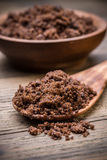 Muscovado brown sugar Royalty Free Stock Image