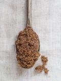 Muscovado organic brown sugar Royalty Free Stock Photography