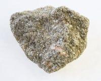 muscovite łyszczyk greisen skałę z spessartine zdjęcie stock