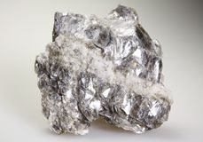 Muscovite - white mica Royalty Free Stock Photo