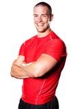 Muscular athlete Royalty Free Stock Photo