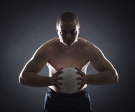 Muscular athlete2 Royalty Free Stock Image